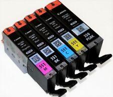 5 Original Canon PGI-550 CLI-551 Tintenpatronen  C/M/Y/K/PGBK MX925 MG5550 6450