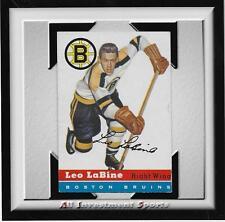 1954 Topps LEO LaBINE #19 VG-EX *tough hockey card for set* DD17