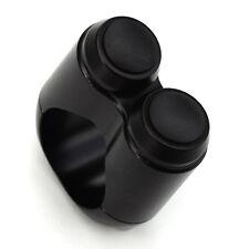 Edelstahl Mini Drucktaster Taster für Motorradlenker Lenkertaster Druckknopf