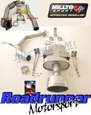 Milltek Scarico Leon Cupra K1 2.0 T 07-09 Turbo indietro Inc De cat Tubo di scolo non RES