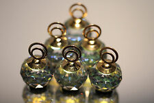 Mint Swarovski Crystal Set of 6 Place Card Holders Sahara Color 7403 020 001