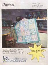 Sherbet Quilt Pattern  QP181 by Pam Bono Designs