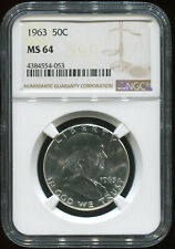 1963 50C MS 64 NGC USA coin
