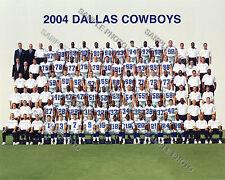 2004 DALLAS COWBOYS FOOTBALL TEAM 8X10 PHOTO PICTURE