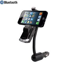 Car Kit Fm Transmitter Mp3 Player Wireless Bluetooth Phone Holder Charger+Remote