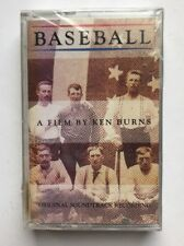 Baseball A Film by Ken Burns SEALED Cassette Tape Soundtrack Recording 1994