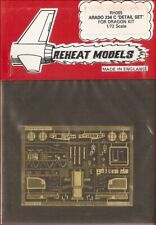 Reheat Models Photo-Etch Arado 234 C for Dragon 1/72 Scale Model Kit
