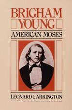 Brigham Young: American Moses by Leonard J. Arrington (English) Paperback Book