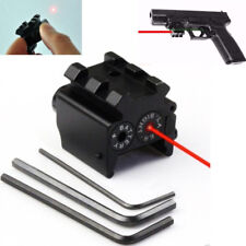 Mini Tactical Compact Pistol Red Laser Dot Sight Low Profile Rifle Navigation