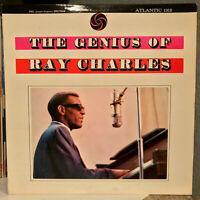 "RAY CHARLES - The Genius Of Ray Charles (Atlantic 1312) 12"" Vinyl Record LP - EX"