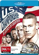 A WWE - US Championship, The - Legacy Of Greatness (Blu-ray, 2016, 2-Disc Set)
