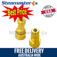 """Carpet Cleaning Hose Fittings WHOLESALE 1 Female & 1 Male ¼"""""""