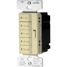 Eaton Pt18M-V-K1800-Watt15-Amp1 25-Volt 5-Button Minute Timer with Auto-Off,Ivory