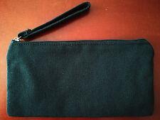 10x Eco Canvas Makeup bag Cosmetic travel bag Pencil Case Organiser Kids Pouch