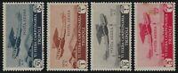 Libya - 1933 - Scott # C4 thru C7 - Complete Set - Mint OG Hinged - Toned Gum