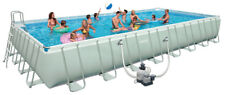 Intex 28372 Above Ground Pool Ultra Frame Rectangular 975x488x132