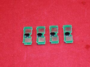 4 pcs Toner Cartridge Reset Chip FOR HP Color LaserJet 1500 2500 2550 2820 2840