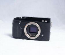 Fujifilm X Series X-E1 16.3MP Digital SLR Camera - Black (Body Only)