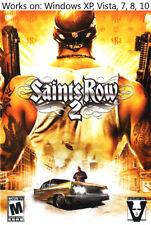 Saints Row 2 PC Game Windows XP Vista 7 8 10