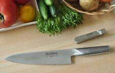 GLOBAL: 2pcs set A - Gyuto(20cm), Knife sharpner Japan New [GST-A2/1003001]