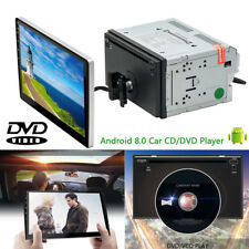 """Android 8.0 10.1"""" Split Tablet DVD Radio 2DIN Stereo Unit Car GPS Wifi Bluetooth"""