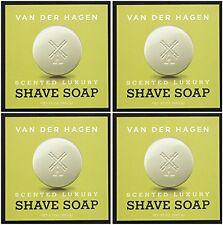 8 Van Der Hagen Men's Luxury Scented Shave Soap, 3.5 Ounce (Pack of 8)