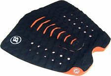 BLOCK SURF USA  surfboard traction  FISH WIDE tail pad stomp pad 3 piece  NUGGET