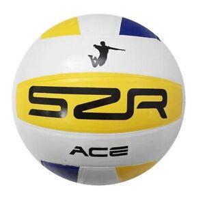 ✅ SLAZENGER ACE Volleyball Beach Ball Größe 5 Gummi Strand Spiel Sport Wasser