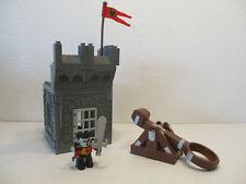 ( RB6 / 7 ) LEGO Duplo Turm mit Katapult und  Ritter Ritterburg   4672 4777 4785
