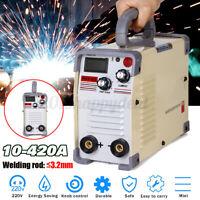 Portable Welding Machine ARC Force Welder Inverter MMA 220V 420Amp Stick