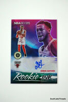 2019-20 Panini NBA Hoops Premium Ink Flash Prizm Daniel Gafford Rookie Auto