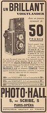 Y8625 Voigtlander - Appareil photo BRILLANT - Pubblicità d'epoca - 1933 Old ad