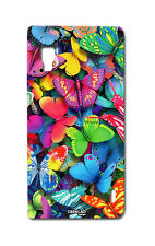 COVER CASE PROTETTIVA FARFALLE COLORATE PER LG OPTIMUS L5 II DUAL E460