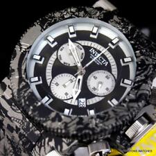 Invicta Coalition Forces Hydroplated Graffiti Gray Steel Chrono 51mm Watch New