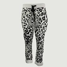 JUVIA Damen Loose Fit Sweatpants Hose 830 14 196 in Ecru Gr. S - XL NEU