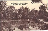 91 - cpa - BRUNOY - Un coin de l'Yerres près du vieux moulin de Rochopt