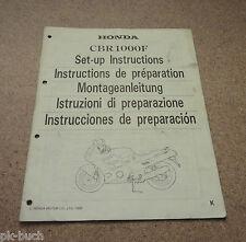Montageanleitung Honda CBR 1000 F Stand 89