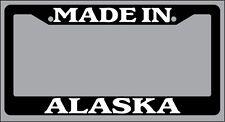 Black License Plate Frame I Heart Alaska Auto Accessory 1043