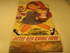 PB LITTLE RED RIDING HOOD Printed in Belgium, Pub by B Watson Ltd London [Y36]