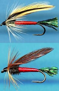 Sprucefly Wet Fish Fly Fishing Fly - Choice of Color and Size (One FLY)