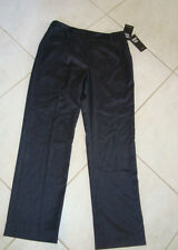"""Sharon Young Womens NWT Essential Fall 2011 Dark Gray Pants Size 10 L 31"""" NEW"""