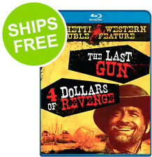 The Last Gun / 4 Dollars Revenge (Blu-ray) NEW, Spaghetti Western, Guns, Fights