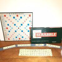 vintage scrabble board game Spears Games Complete Slight Box Wear
