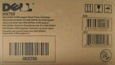 ORIGINALE Dell toner hx756 Toner Per DELL 2335dn 2355dn BLACK 593-10329 CARTONE C