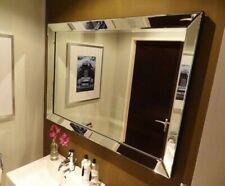 XL Edler Colmore Wandspiegel 130x70cm mit Spiegelrahmen Spiegel Glasrahmen