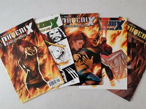 X-Men : Phoenix Endsong mini-série complète. VO Marvel, 2005. BE