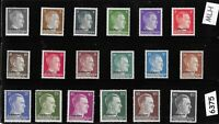 MLH Adolph Hitler stamp set / WWII Third Reich / Occupation Ukraine Overprints