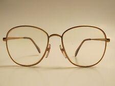 Menard 318 Vintage Rare Gold Metal Eyeglasses Made in Germany 54-16-135
