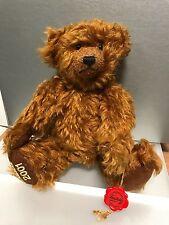 Hermann Teddy Bear 11in Limited! with Etikett. Unbespielt. Top Condition