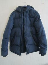 Mens Navy winter coat small